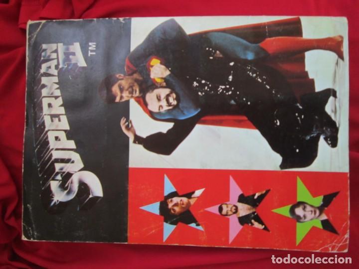 Coleccionismo Álbum: ALBUM COMPLETO SUPERMAN II. EDITORIAL FHER 1980. - Foto 2 - 146654906