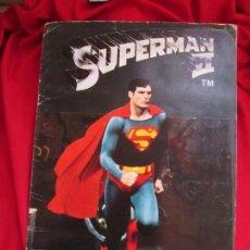 Coleccionismo Álbum: ALBUM COMPLETO SUPERMAN II. EDITORIAL FHER 1980.. Lote 146654906
