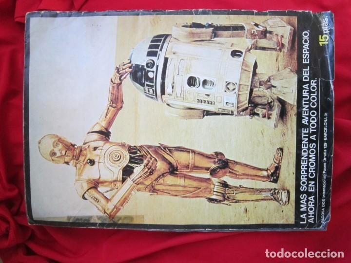 Coleccionismo Álbum: ALBUM COMPLETO LA GUERRA DE LAS GALAXIAS. PACOSA DOS, 1977 - Foto 2 - 146655394
