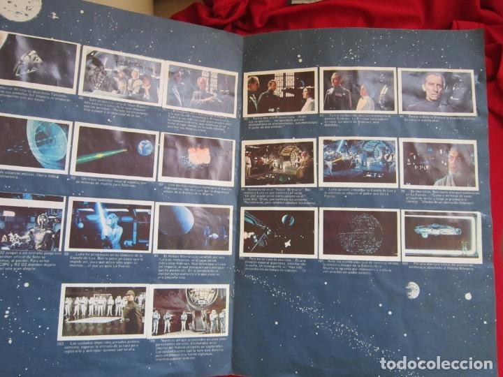 Coleccionismo Álbum: ALBUM COMPLETO LA GUERRA DE LAS GALAXIAS. PACOSA DOS, 1977 - Foto 3 - 146655394