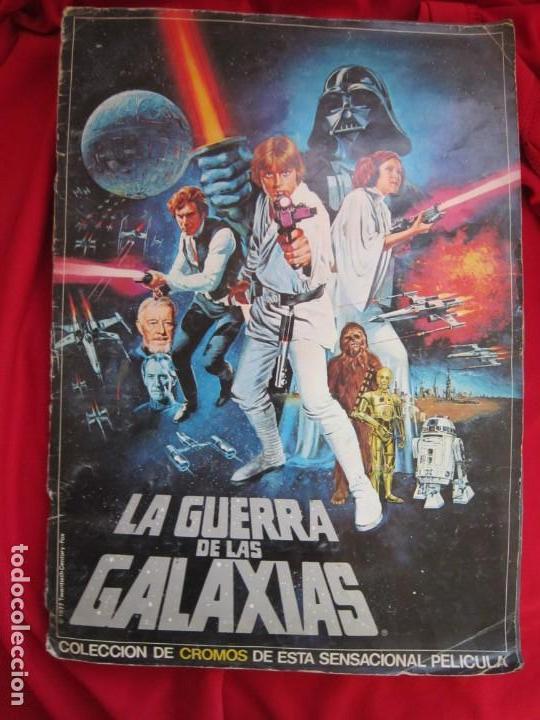 ALBUM COMPLETO LA GUERRA DE LAS GALAXIAS. PACOSA DOS, 1977 (Coleccionismo - Cromos y Álbumes - Álbumes Completos)
