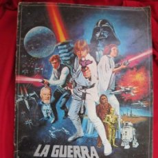 Coleccionismo Álbum: ALBUM COMPLETO LA GUERRA DE LAS GALAXIAS. PACOSA DOS, 1977. Lote 146655394