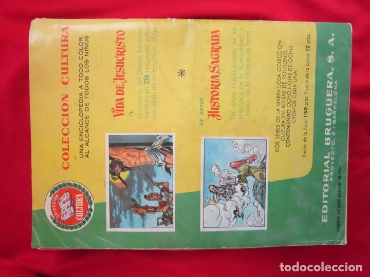 Coleccionismo Álbum: ALBUM COMPLETO LOS DIEZ MANDAMIENTOS. EDITORIAL BRUGUERA, 1959. BASTANTE BUENO - Foto 2 - 146657390