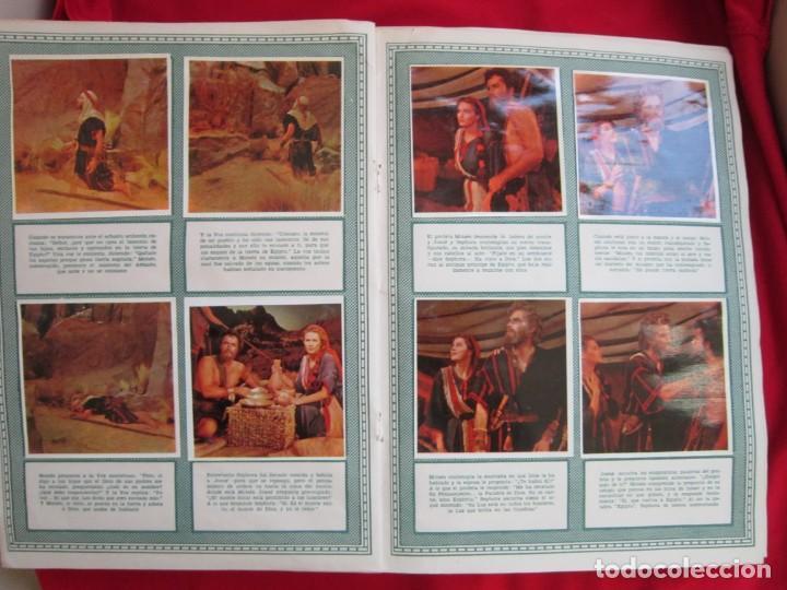 Coleccionismo Álbum: ALBUM COMPLETO LOS DIEZ MANDAMIENTOS. EDITORIAL BRUGUERA, 1959. BASTANTE BUENO - Foto 5 - 146657390