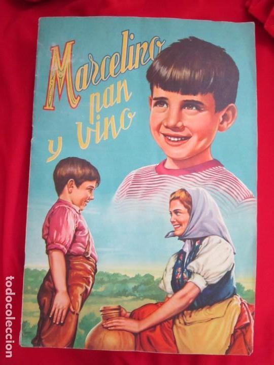 ALBUM SEMI COMPLETO MARCELINO PAN Y VINO, PABLITO CALVO.EDITORIAL FHER 1957. FALTAN 24 CROMOS DE 240 (Coleccionismo - Cromos y Álbumes - Álbumes Completos)