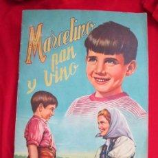 Coleccionismo Álbum: ALBUM SEMI COMPLETO MARCELINO PAN Y VINO, PABLITO CALVO.EDITORIAL FHER 1957. FALTAN 24 CROMOS DE 240. Lote 146659906