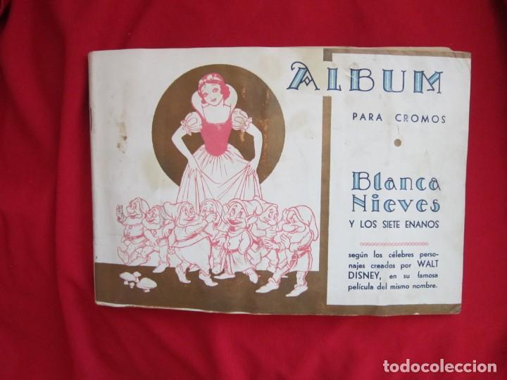 ALBUM COMPLETO BLANCANIEVES Y LOS SIETE ENANITOS. EDITORIAL FHER. PRECIOSO Y EN MUY BUEN ESTADO (Coleccionismo - Cromos y Álbumes - Álbumes Completos)