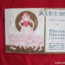 Coleccionismo Álbum: ALBUM COMPLETO BLANCANIEVES Y LOS SIETE ENANITOS. EDITORIAL FHER. PRECIOSO Y EN MUY BUEN ESTADO. Lote 146662486