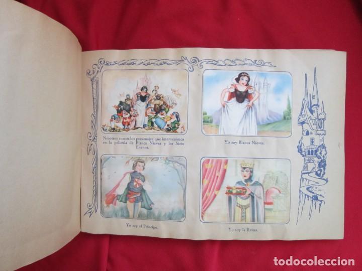 Coleccionismo Álbum: ALBUM COMPLETO BLANCANIEVES Y LOS SIETE ENANITOS. EDITORIAL FHER. PRECIOSO Y EN MUY BUEN ESTADO - Foto 3 - 146662486
