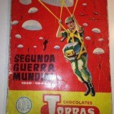 Coleccionismo Álbum: SEGUNDA GUERRA MUNDIAL. Lote 146829774