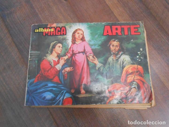 ALBUM CROMOS COMPLETO ARTE EDITORIAL MAGA PINTORES FORTUNY PICASSO GOYA ALBUN ALFREEDOM (Coleccionismo - Cromos y Álbumes - Álbumes Completos)