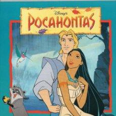 Coleccionismo Álbum: ALBUM POCAHONTAS, 1996 COMPLETO Y NUEVO, . Lote 146993554