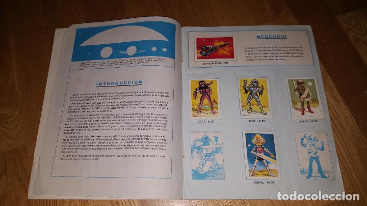 Coleccionismo Álbum: ALBUM COMPLETO GUERREROS DEL ESPACIO FHER CON POSTER CENTRAL COMPLETO + SOBRE VACIO - Foto 3 - 146993578