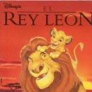 Coleccionismo Álbum: ALBUM EL REY LEON,1995, COMPLETO. Lote 146995282