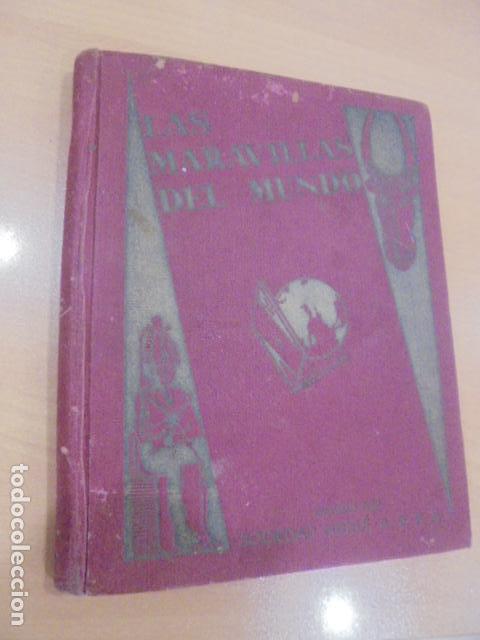 LAS MARAVILLAS DEL MUNDO - COMPLETO - NESTLE (Coleccionismo - Cromos y Álbumes - Álbumes Completos)