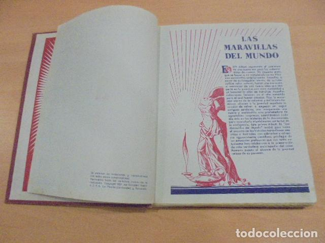 Coleccionismo Álbum: LAS MARAVILLAS DEL MUNDO - COMPLETO - NESTLE - Foto 3 - 147059510