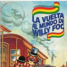 Coleccionismo Álbum: ALBUM LA VUELTA AL MUNDO DE WILLY FOG,COMPLETO. Lote 147144278