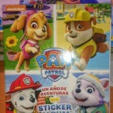 Coleccionismo Álbum: PAW PATROL, LA PATRULLA CANINA. Lote 147424462