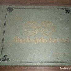 Coleccionismo Álbum: ALBUM GEOGRAFICO UNIVERSAL. CIGARROS LA CORONA. HABANA. COMPLETO. NUEVO. PERFECTO ESTADO. VER FOTOS.. Lote 147434890
