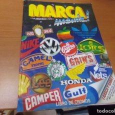 Coleccionismo Álbum: ALBUM MARCA MANIA, 205 CROMOS COMPLETO. Lote 147439494