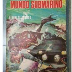 Coleccionismo Álbum: ALBUM CROMOS MUNDO SUBMARINO ED BALLGRAF COMPLETO. Lote 147472846