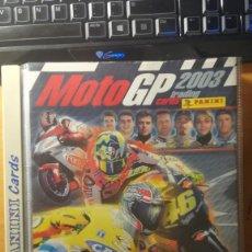 Coleccionismo Álbum: MOTO GP 2003 - PANINI (COMPLETA). Lote 221743650