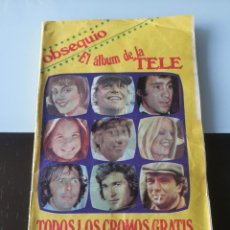Coleccionismo Álbum: ÁLBUM CROMOS REVISTA PRONTO ÁLBUM DE LA TELE. Lote 147551058