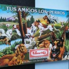 Coleccionismo Álbum: ÁLBUM CROMOS PANRICO TUS AMIGOS LOS PERROS NO PHOSKITOS BOLLYCAO NO PANRICO. Lote 147551534