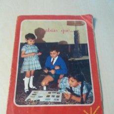 Coleccionismo Álbum: ALBUM CURIOSIDADES DEL MUNDO CHOCOLATES CIBELES1965 COMPLETO . Lote 147582074