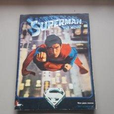 Coleccionismo Álbum: ALBUM COMPLETO SUPERMAN FHER CON POSTER CENTRAL.BUEN ESTADO. Lote 147625793
