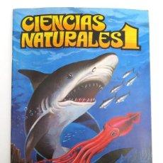 Coleccionismo Álbum: ALBUM 1982 CIENCIAS NATURALES 1. FOURNIER EASO. COMPLETO, BUEN ESTADO. ANIMALES, ANATOMIA. Lote 147700506