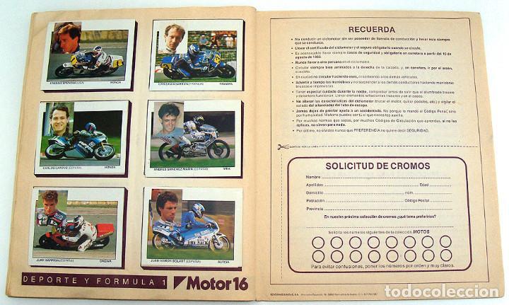 Coleccionismo Álbum: album 1987 Motos. Pilotos, marcas y modelos. Moto Motor 16. Falta un cromo. Ver fotos - Foto 2 - 147904926