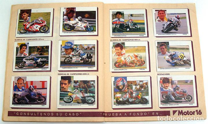 Coleccionismo Álbum: album 1987 Motos. Pilotos, marcas y modelos. Moto Motor 16. Falta un cromo. Ver fotos - Foto 3 - 147904926