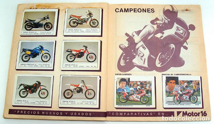 Coleccionismo Álbum: album 1987 Motos. Pilotos, marcas y modelos. Moto Motor 16. Falta un cromo. Ver fotos - Foto 4 - 147904926