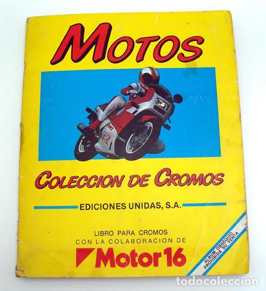 Coleccionismo Álbum: album 1987 Motos. Pilotos, marcas y modelos. Moto Motor 16. Falta un cromo. Ver fotos - Foto 5 - 147904926