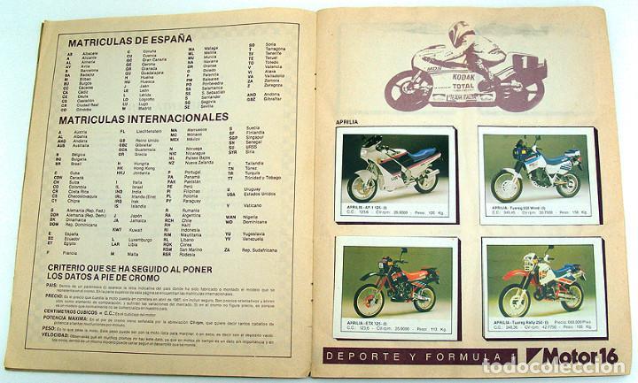Coleccionismo Álbum: album 1987 Motos. Pilotos, marcas y modelos. Moto Motor 16. Falta un cromo. Ver fotos - Foto 7 - 147904926