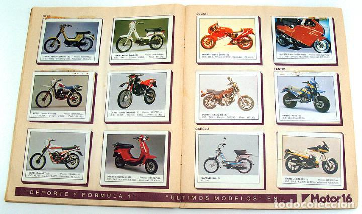 Coleccionismo Álbum: album 1987 Motos. Pilotos, marcas y modelos. Moto Motor 16. Falta un cromo. Ver fotos - Foto 10 - 147904926