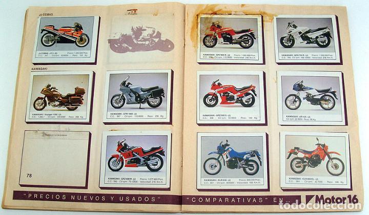 Coleccionismo Álbum: album 1987 Motos. Pilotos, marcas y modelos. Moto Motor 16. Falta un cromo. Ver fotos - Foto 14 - 147904926