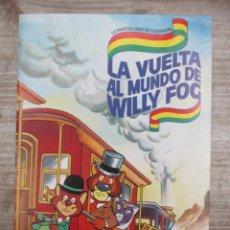 Coleccionismo Álbum: ALBUM DE CROMOS - LA VUELTA AL MUNDO DE WILLY FOG - DANONE - COMPLETO. Lote 147975630