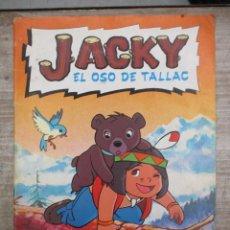 Coleccionismo Álbum: ALBUM DE CROMOS - JACKY EL OSO DE TALLAC - DANONE - COMPLETO. Lote 147975710