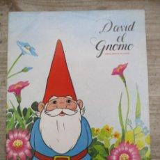 Coleccionismo Álbum: ALBUM DE CROMOS - DAVID EL GNOMO - DANONE - COMPLETO. Lote 147975830