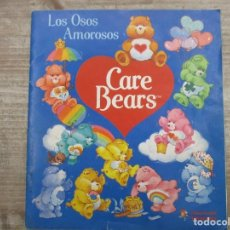 Coleccionismo Álbum: ALBUM DE CROMOS - CARE BEARS - LOS OSOS AMOROSOS -COMPLETO - FIGURINE / PANINI. Lote 147978794