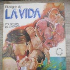 Coleccionismo Álbum: ALBUM DE CROMOS - EL ORIGEN DE LA VIDA -COMPLETO - EDICIONES ESTE. Lote 147980262