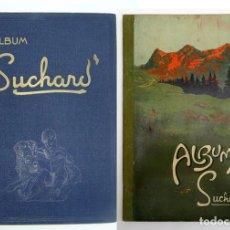 Coleccionismo Álbum: ALBUM 1931 SUCHARD AZUL Y VERDE, LOS 2 COMPLETOS. RAZAS, ANIMALES. VER FOTOS. MUY BUEN ESTADO. Lote 148011370