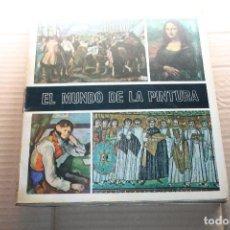 Coleccionismo Álbum: ALBUM DE CROMOS EL MUNDO DE LA PINTURA, COMPLETO, EDITORIAL DIFUSORA DE CULTURA. Lote 148059882