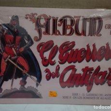 Coleccionismo Álbum: ALBUM DE CROMOS DE EL GUERRERO DEL ANTIFAZ SERIE I, II, III Y IV. Lote 148254877