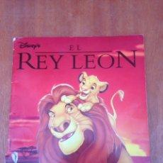 Coleccionismo Álbum: ALBUM COMPLETO EL REY LEÓN DISNEY PANINI. Lote 148486424