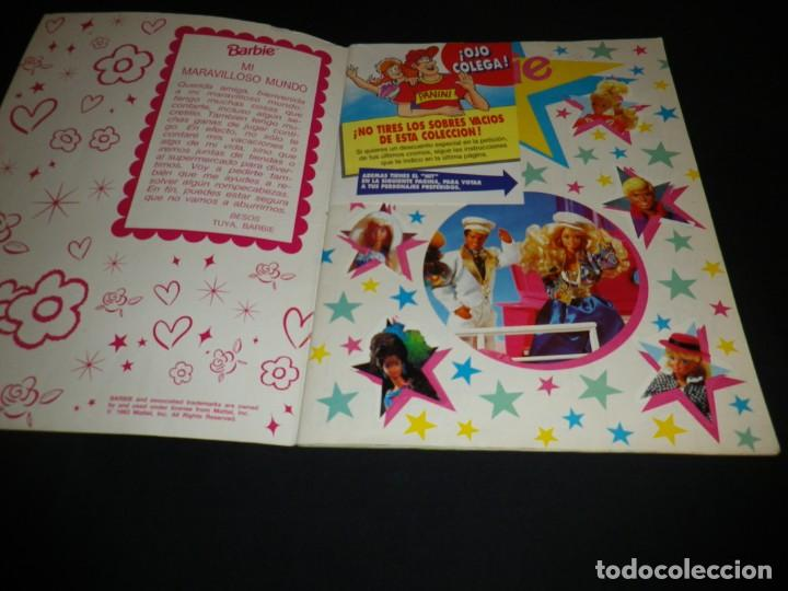 Coleccionismo Álbum: ALBUM COMPLETO BARBIE COMPLETO - Foto 2 - 152344917