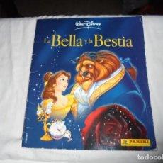 Coleccionismo Álbum: ALBUM DE CROMOS LA BELLA Y LA BESTIA COMPLETO PANINI WALT DISNEY . Lote 148786338