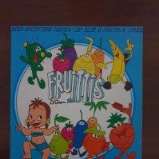 Coleccionismo Álbum: ALBUM FRUITTIS COMPLETO CON LOS 240 CROMOS PEGADOS-PANINI-(1992). Lote 148994730